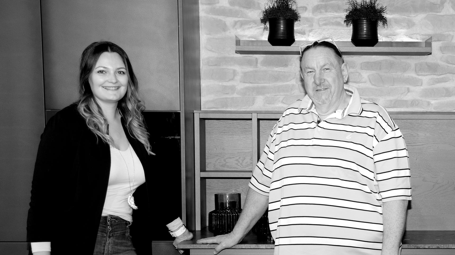 Geschäftsführer Vera Weiss und Hansjörg Ladurner